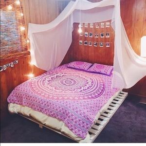 🎉Bedspread Sheet Hand Printed Multiuse Tapestry💞
